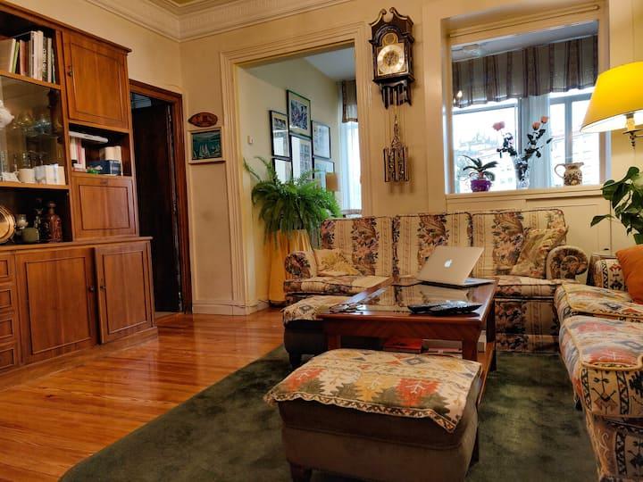 Apartamento centenario en la Virgen Blanca