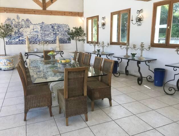 Villa luxueuse en Normandie Tennis piscine,jacuzzi