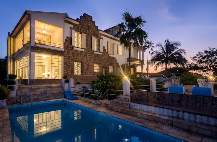 Pink Suite in luxurious Vila in Santa Teresa, Rio