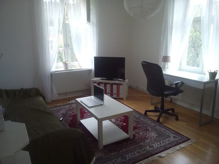 Sunny room 15 min from Gothenburg Centralstation
