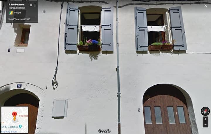 chambre dans vieille maison