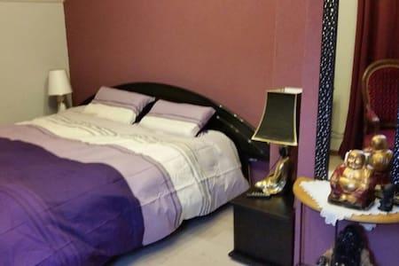 Chambre chaleureuse dans maison avec SDB privée - Sciez
