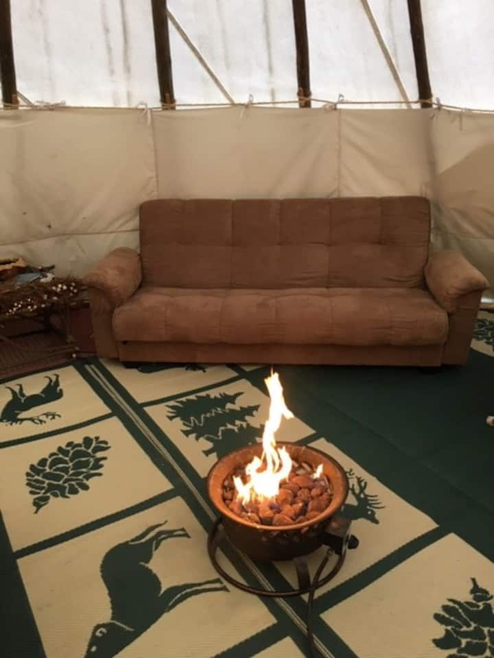 Relax N Time Tipi Experience