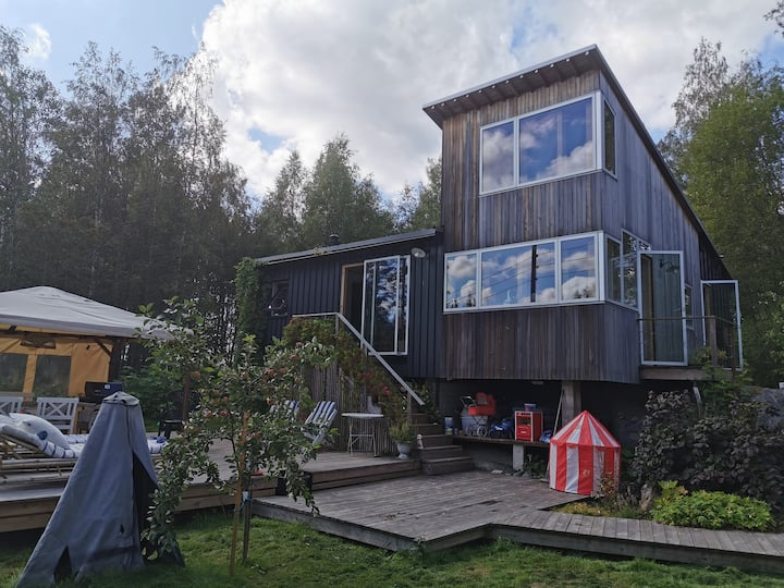 Modern cozy Norwegian Cabin.Very privat. All Year!