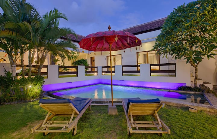 Amazing 1BR relax pool villa CANGGU >>free airport pickup<< No. 2