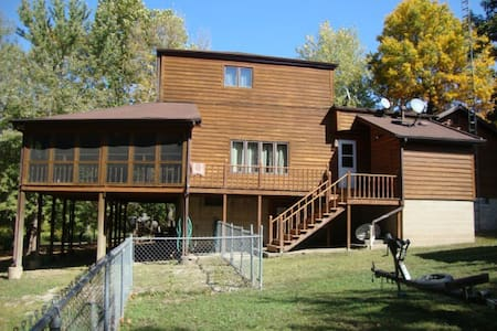 Patterson Bay Road, Bath Illinois -Log Cabin