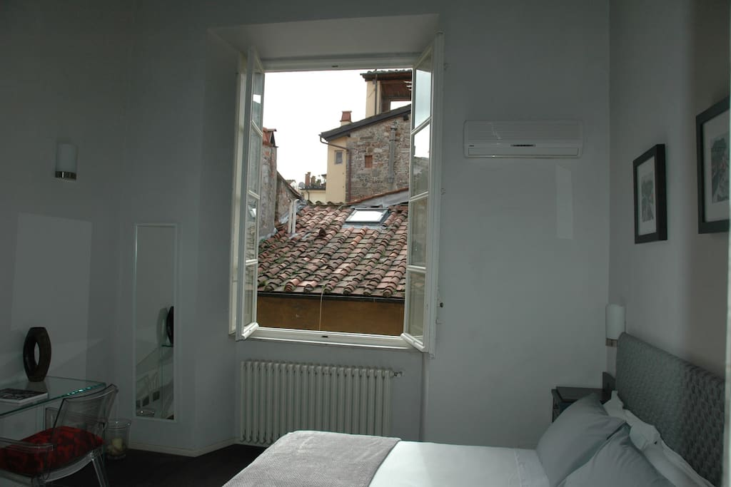 View from window of master bedroom (double)