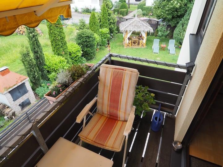 Einzelzimmer m. Balkonzugang in Osthofen bei Worms