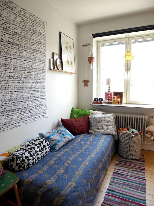 Sovrum 1 (bekväm säng 90 cm)