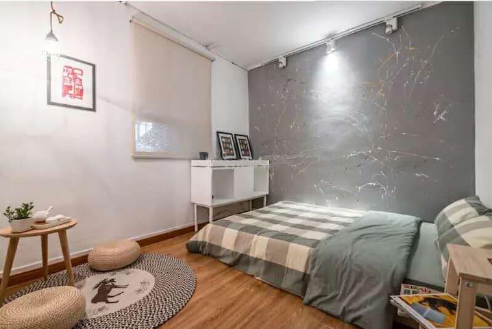 徐家汇中心单间卧室,地铁直达迪士尼 - Shanghai - Appartamento