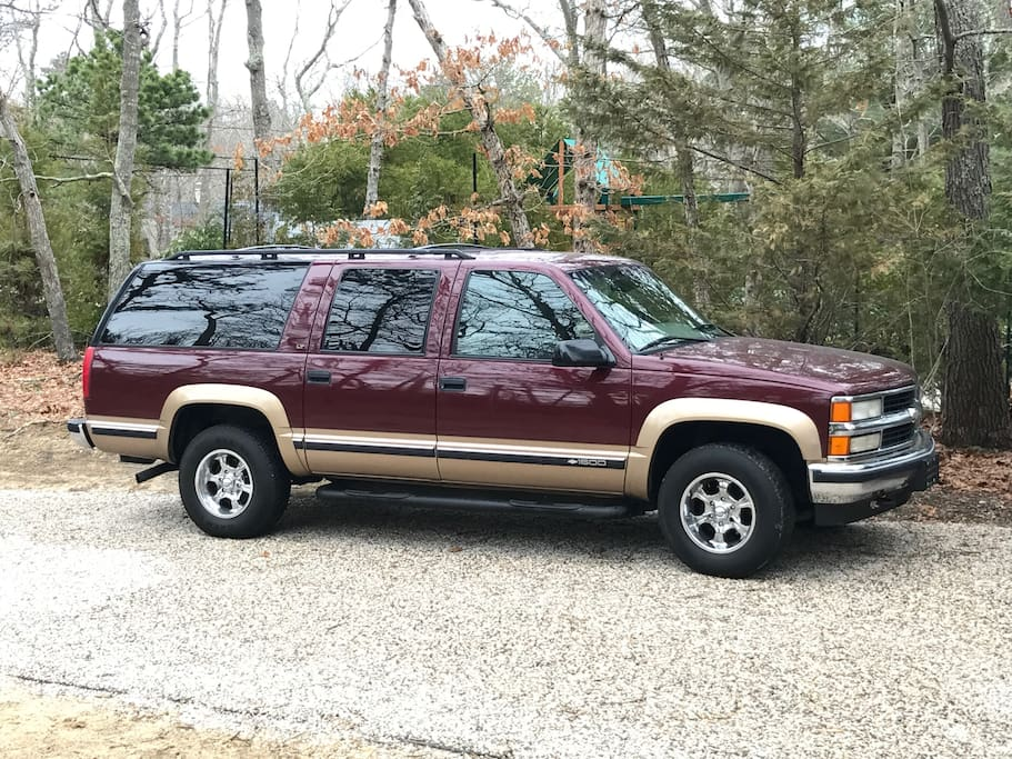 for 300/week you can use our big SUV with village beach pass. BIG PLUS!