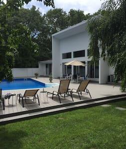 Beautiful modern Quogue house - Quogue