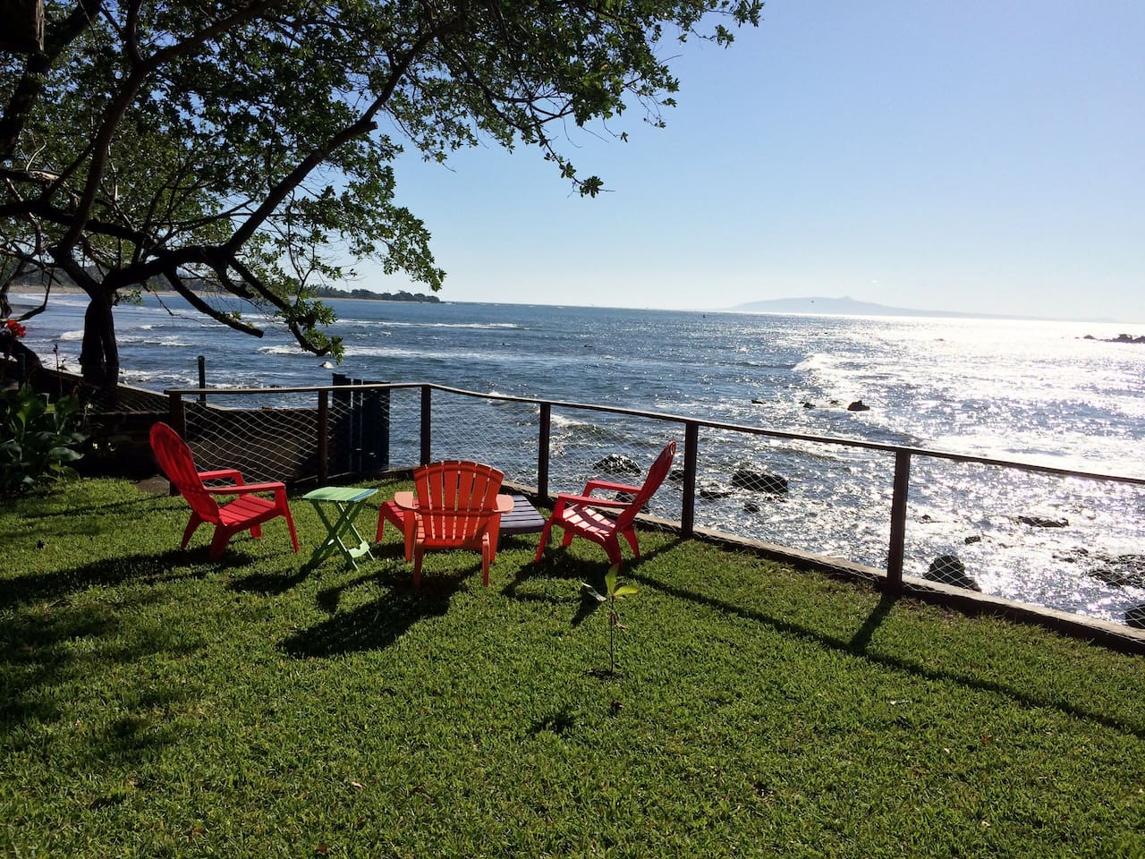 an afternoon to relax comfortably seated in front of this distinct ocean