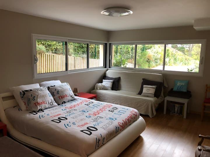 Chambre dans villa Vallée de Chevreuse