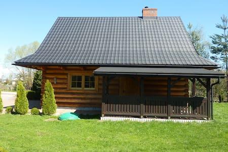 Domek góralski z kominkiem - Czarny Dunajec