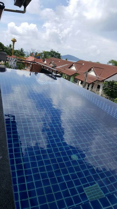 Top floor private Seaview pool