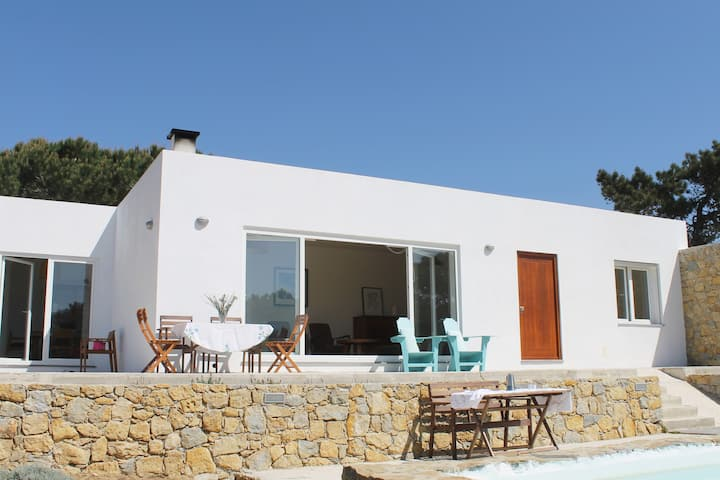MODERN VILLA WITH S. POOL IN PRIVATE 4000 m2 plot
