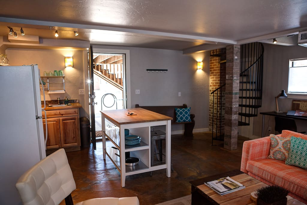 Trendy Loft 2 Steps From The Plaza District Lofts For Rent In Oklahoma City