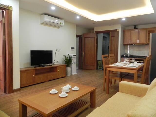 Spacious apartment on Pham Ngoc Thach Str - Ha Noi - Hanói - Apartamento