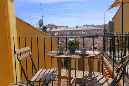 Under the roof flat, maison Berjoan - Antibes