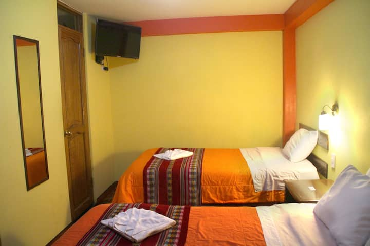 Habitación Matrimonial más una cama adicional