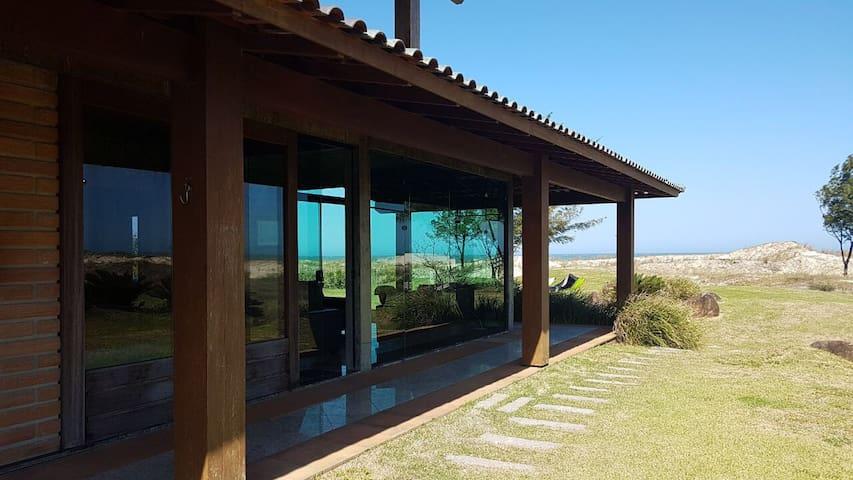 Barra de Ibiraquera frente ao mar (01)