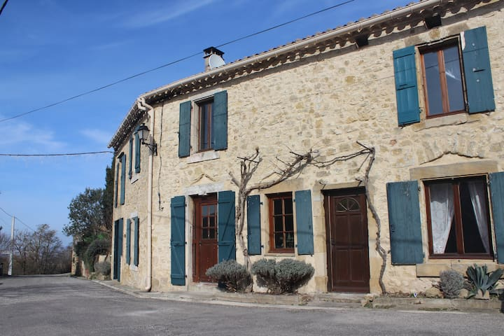 Historic French Stone Country Home - Laurac - Huis