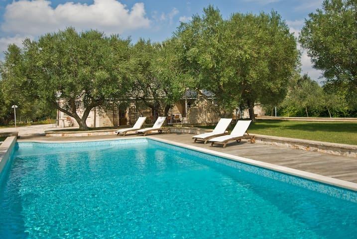 TRULLI CAROLINA 17x6m private pool - Noci - House
