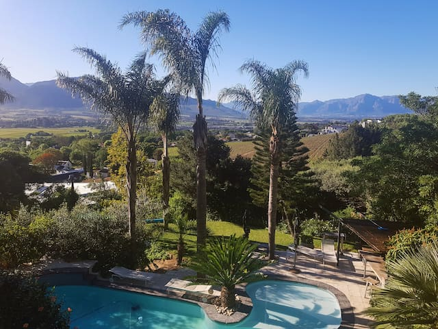 Tranquility in the heart of the Cape Winelands