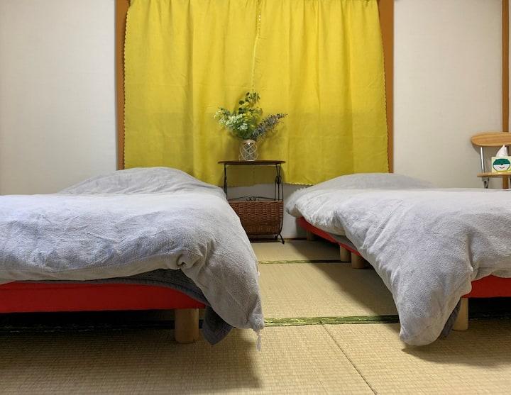 パークハウス27 ☆NEW★池袋直通☆一軒家のベッドあり和室☆二人入居可☆WIFI無料