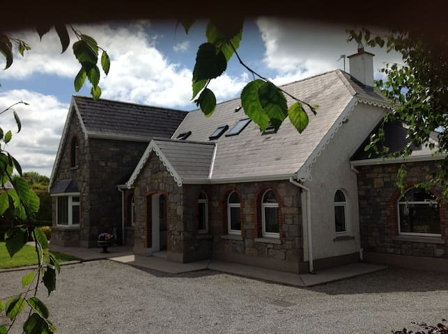 Luxurious accommodation at Glasson Stone Lodge.