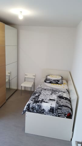 Chambre privative ideale pour les deplacements pro