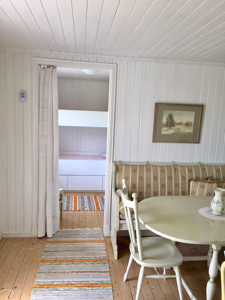 Stuga med utsikt över Onsala fjorden