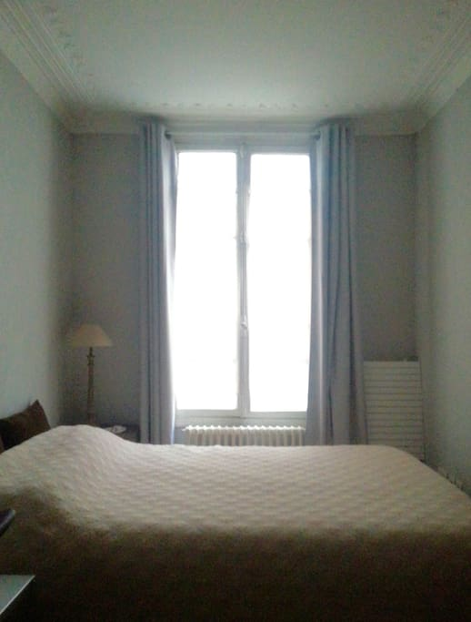Bed room without vis-à-vis
