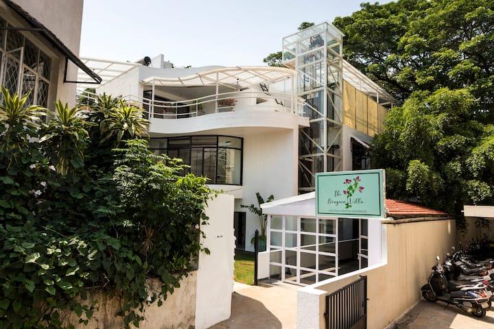 The Bougain Villa