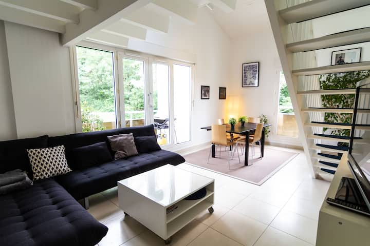 Superb 105m2 duplex apartment Biarritz (4-6 ppl)