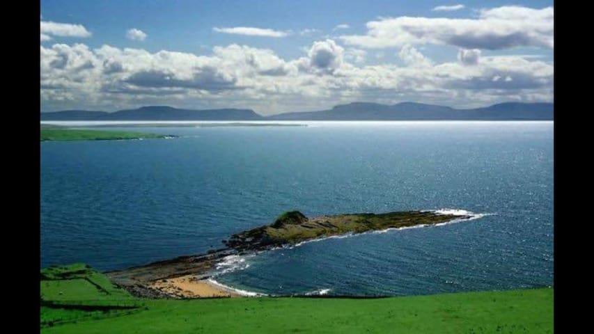 "Stunning Atlantic sea views. ""Shannon brae house """