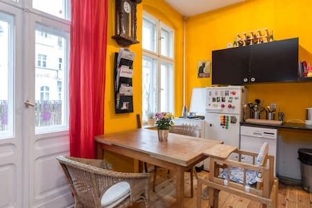 Family-friendly + near to the party - Berlin - Apartment