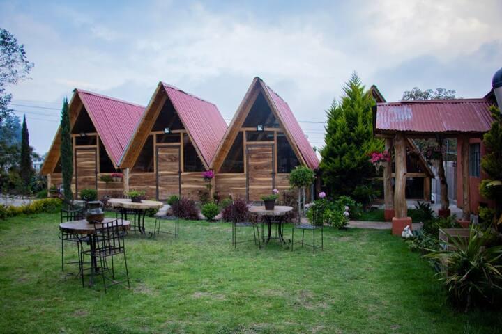Cabañas María Bonita, confort y naturaleza