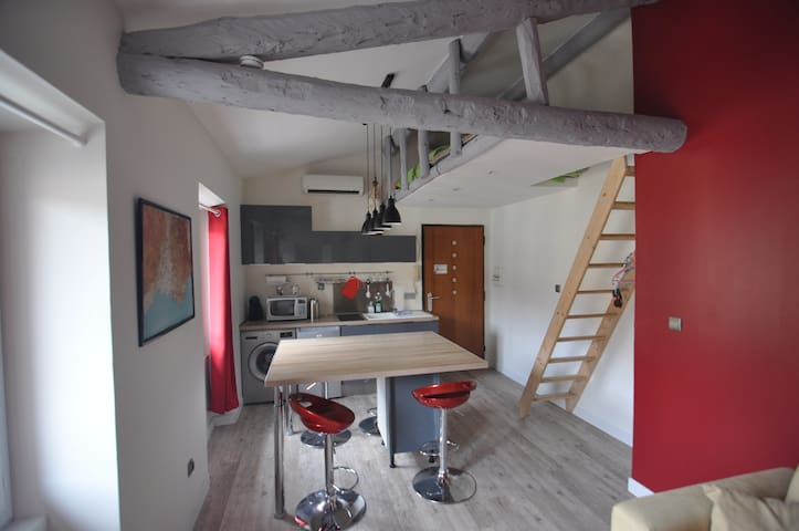 MINI LOFT  4 personnes avec Air Conditionné