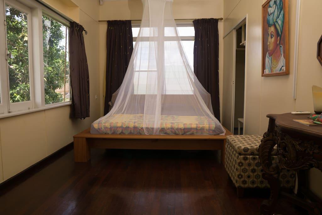 Heritage Room, familie kamer waar 3e bed bijgeplaatst kan worden