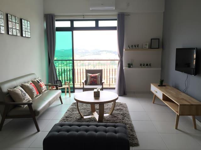 A cozy 2BR with spectacular view - Johor Bahru  - Apartment