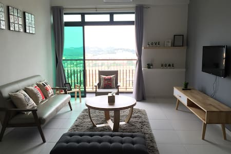A cozy 2BR with spectacular view - Apartamento
