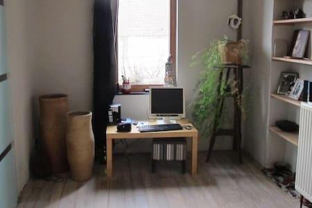 charmante maison avec jardin à louer - Jurbise - Huis
