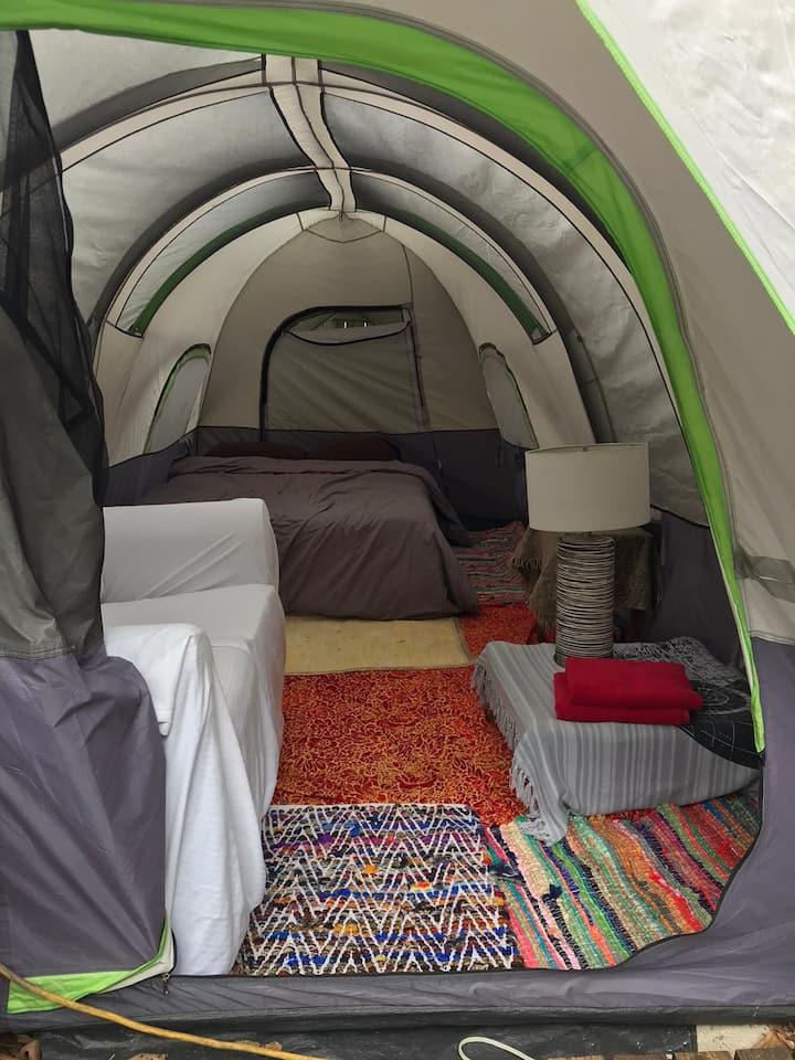 Backyard Camping Oasis
