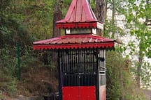 Temple at a 2 kms walk