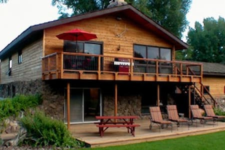 Gunnison River Lodge (Riverfront Vacation Home) - Gunnison - Casa