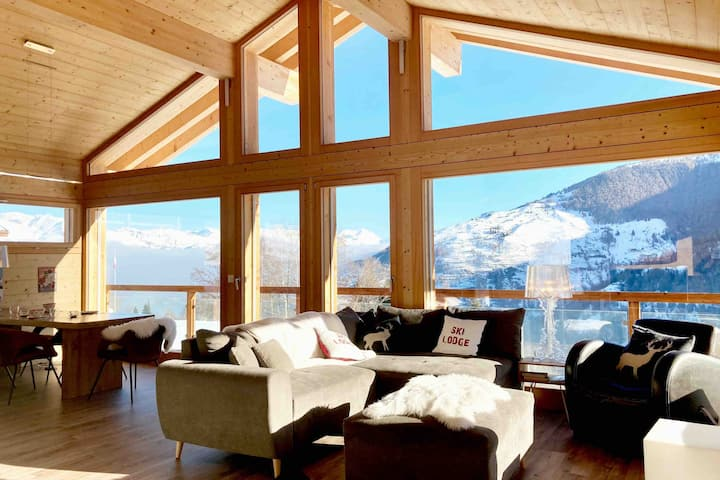 The Swiss lodge (4 vallées & Verbier)
