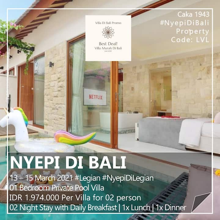 Best Deal Promo Nyepi!  in a Private Pool Villa