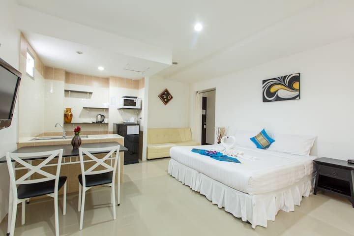 H Cozy One-Bedroom Apartment (4 Adults) - ภูเก็ต - อพาร์ทเมนท์